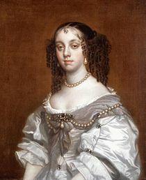 Bragança Katalin egy korabeli festményen