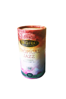 Regálo Tropical Jazz ízesített, szálas fekete tea
