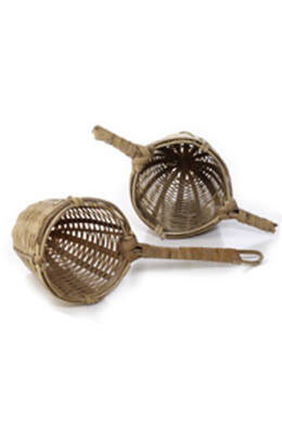 Bambusz teaszűrő
