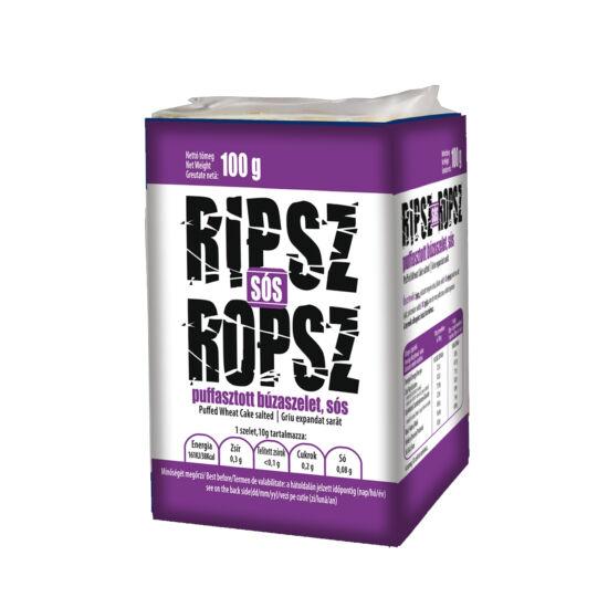 Ripsz Ropsz puffasztott búzaszelet sós 100g*15 csomag