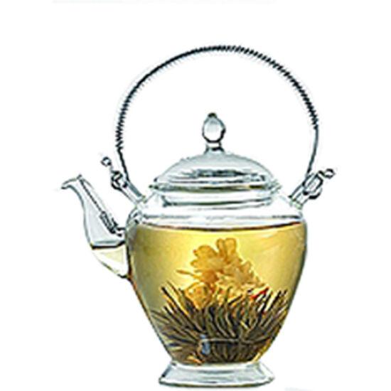 """""""Mata"""" üveg kanna virágzó teához"""