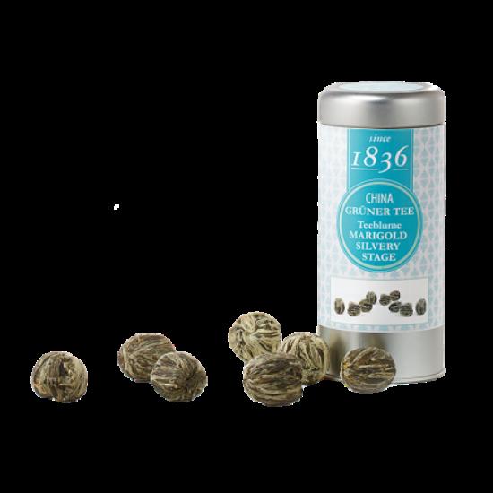 Virágzó teák fémdobozban - Marigold