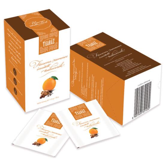 Fűszeres narancs ízesítésű filteres rooibos tea