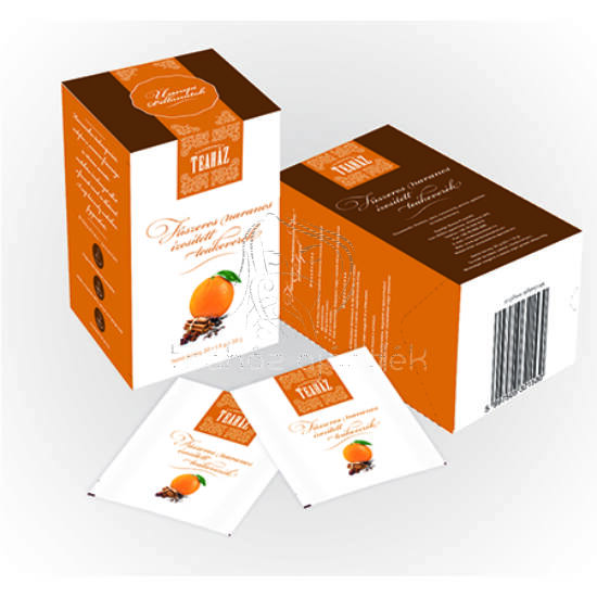 Fűszeres narancs ízesítésű teakeverék 30g*10db