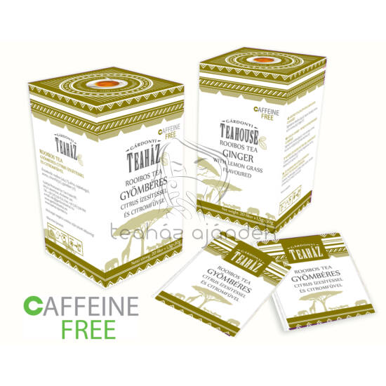 Rooibos tea gyömbérrel és citrom ízesítéssel 30g