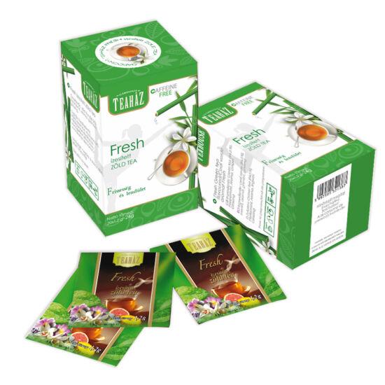 Fresh ízesített  filteres zöld tea 24g*10db