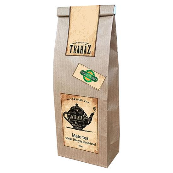 Mate tea vörösáfonya ízesítéssel 100g