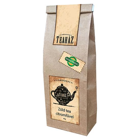 Zöld tea citromfűvel 40g