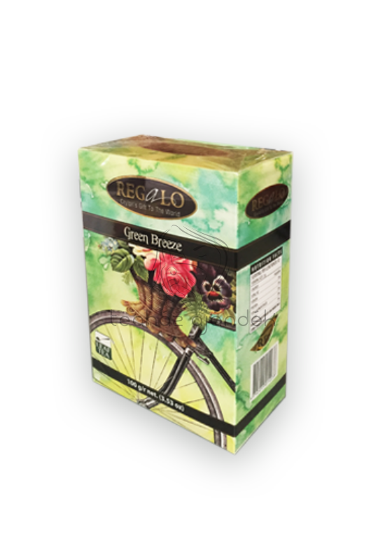 Regalo Green Breeze szálas zöld tea