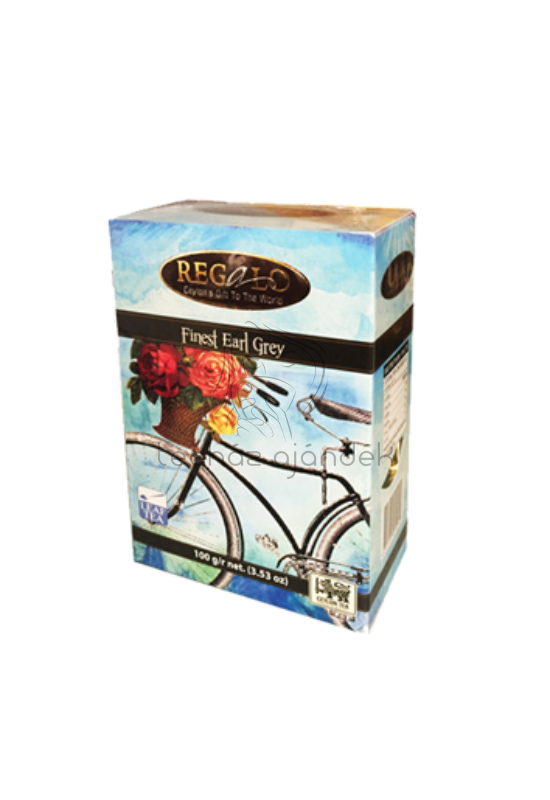 Regalo Finest Earl Grey ízesített fekete tea