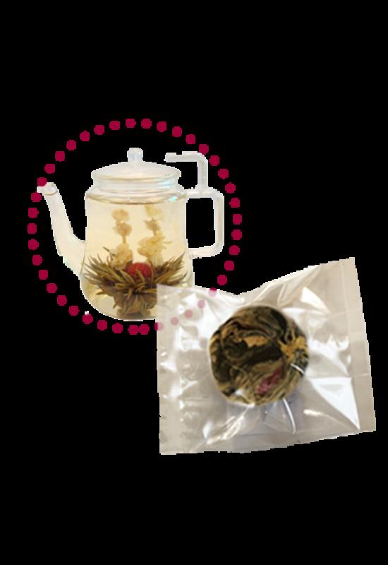 """""""Jázmin""""  virágzó tea"""
