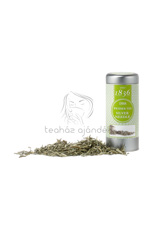 Fehér tea fémdobozban -Silver Needle