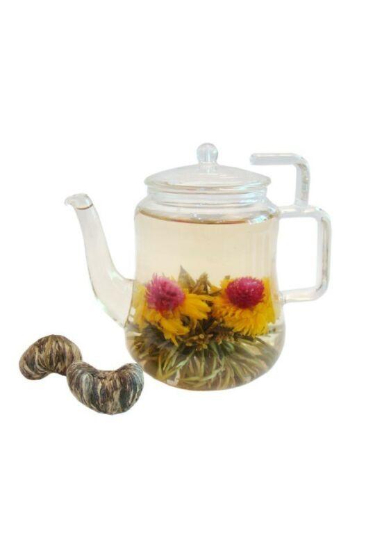 """""""Dupla boldogság"""" virágzó tea"""