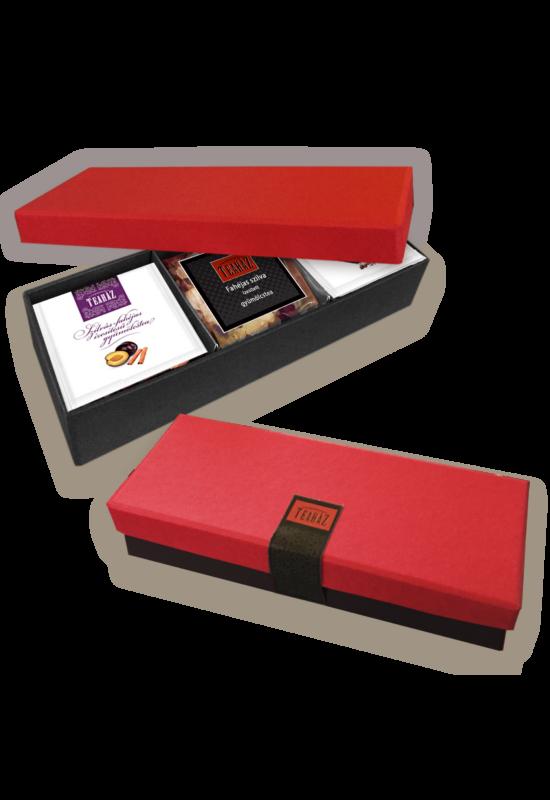 """Red & Black box"" teakollekció"