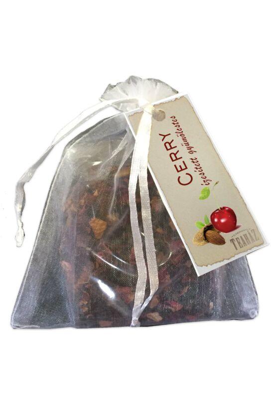 Cherry ízesítésű gyümölcstea organza tasakban