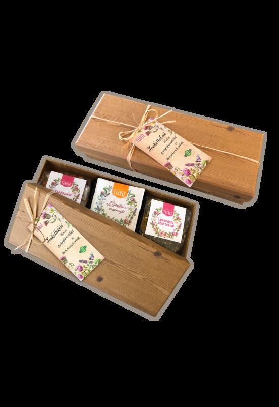 """""""Natural box"""" teakollekció"""