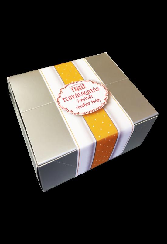 Filteres teaválogatás ízesített rooibos teákból
