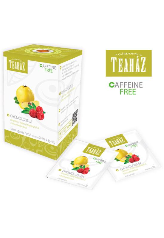 Gárdonyi teaház gyümölcstea birsalma, málna ízesítéssel és citromverbénával 40g*10db