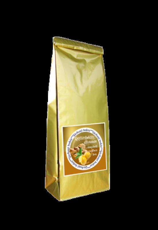 Gyömbéres és citromos ízesítésű rooibos tea 50g