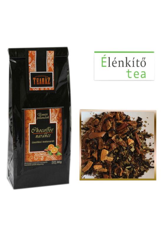 Gárdonyi Teahéz Chocoffee narancs ízesítésű teakeverék 80g*14db
