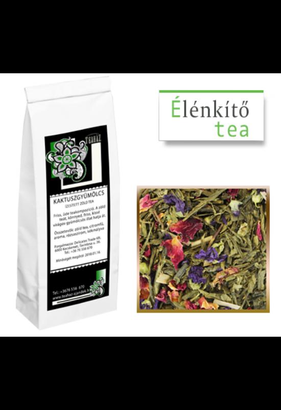 Kaktuszgyümölcs zöld tea 100g