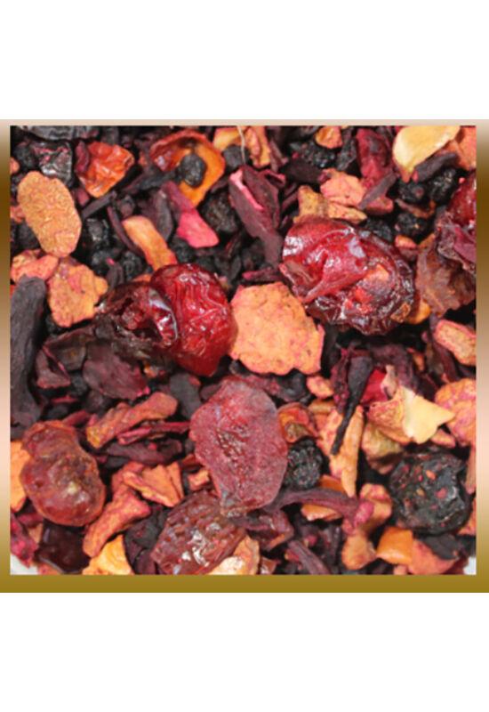 Vörös áfonya ízesített gyümölcstea
