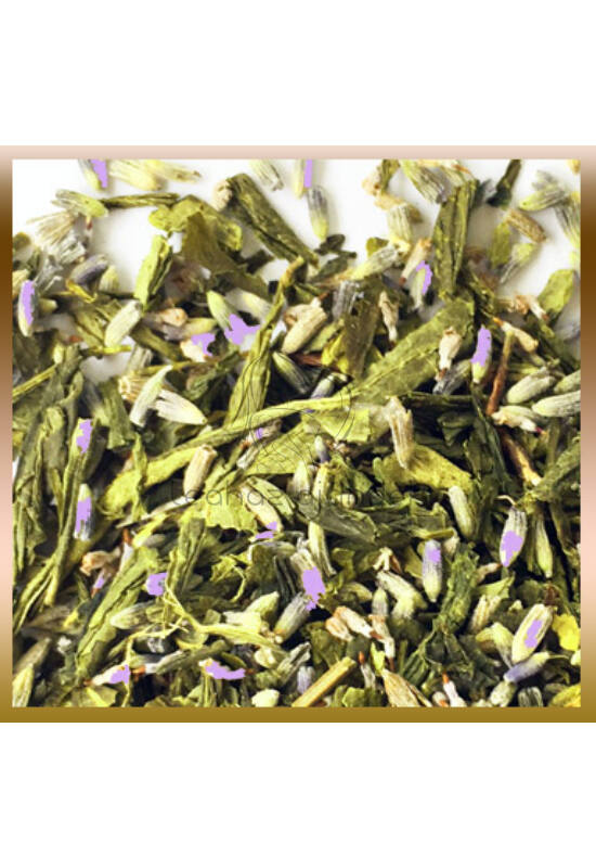 Levendula zöld teával 250 g